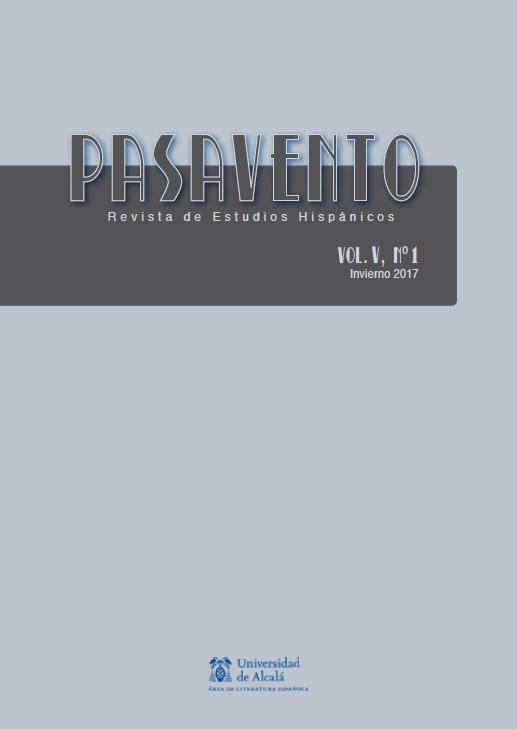 Ver Vol. 5 Núm. 1 (2017): Intermedialidad en el ámbito hispánico actual