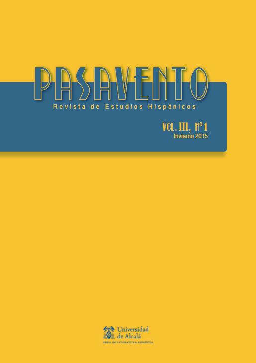 Ver Vol. 3 Núm. 1 (2015): La autoficción hispánica en el siglo XXI