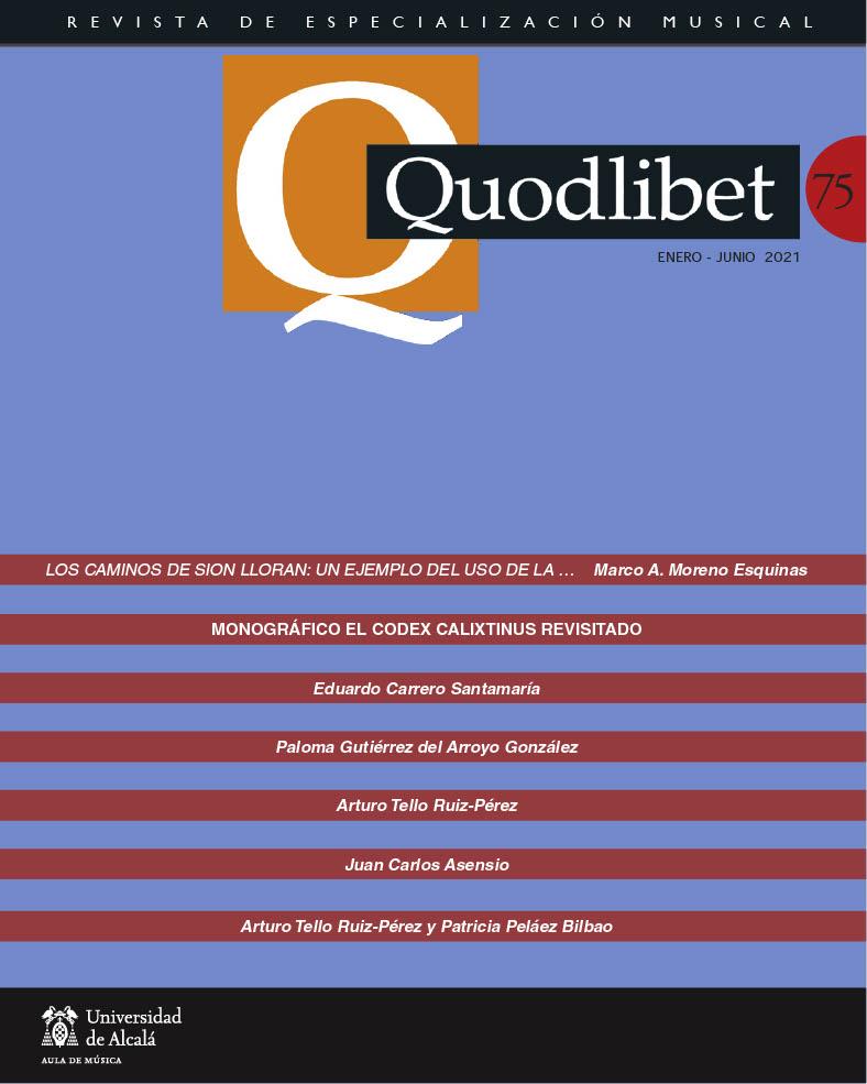 Ver Núm. 75 (2021): Quodlibet n.º 75